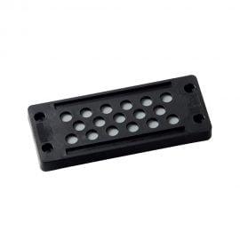 KDP-X-24-17 Placa trecere etansa intrari elastice 17 cabluri diametrul 5-9 mm produs Murrplastik