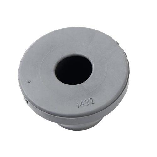 KDM_G-M32 Membrana rotunda de trecere pentru cabluri cu diametrul cuprins intre 15-21 mm. Fara halogeni. Ofera etansare excelenta pana la IP67.
