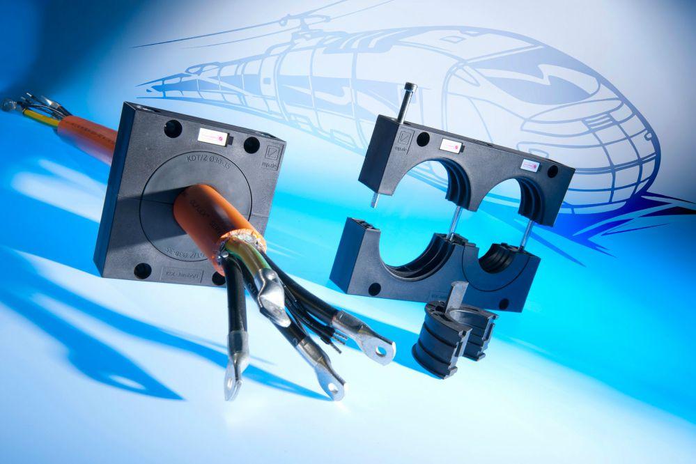 KDL JUMBO gama pentru cabluri tuburi mari inflexibile