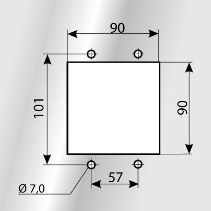 Montaj KDL-JUMBO 1 decupaj sistem de trecere cabluri mari