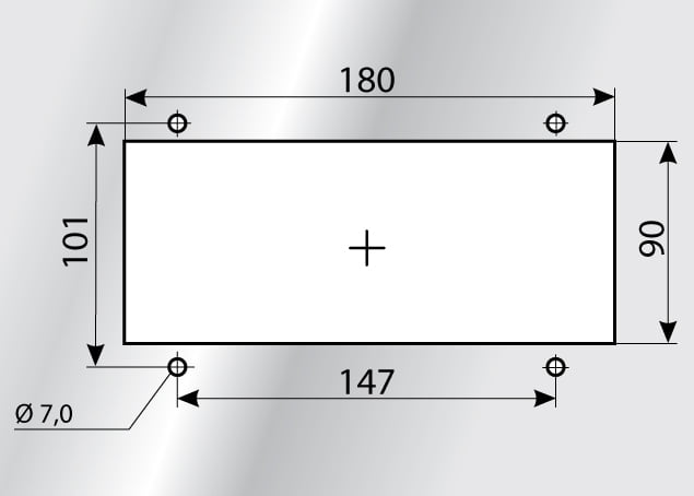 Montaj KDL-JUMBO 2 decupaj sistem trecere tuburi si cabluri mari