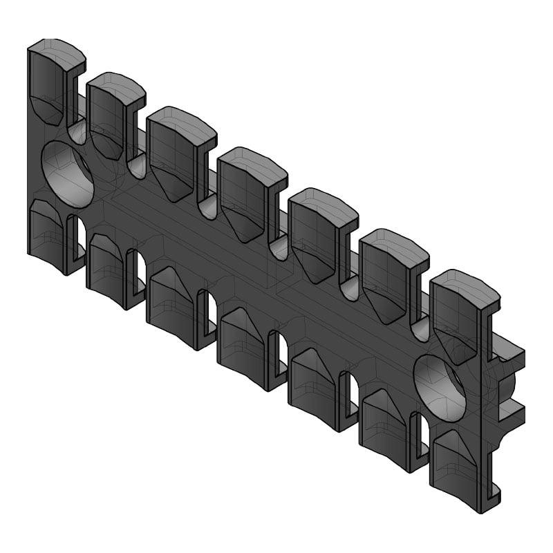ZL 103 - Suport de prindere pentru 7 cabluri Murrplastik