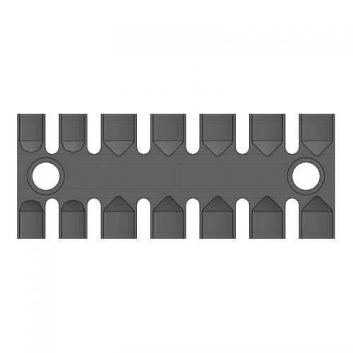 ZL 103 - Suport prindere 7 cabluri - Certificat tehnologia de cai feroviara