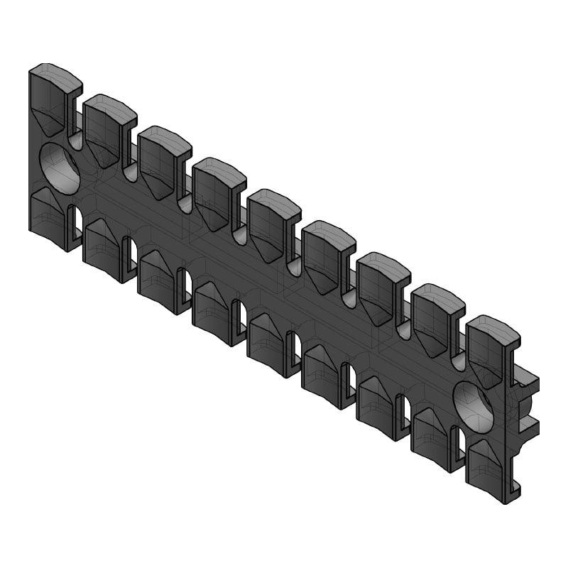 ZL 140 - Suport de prindere pentru 9 cabluri Murrplastik
