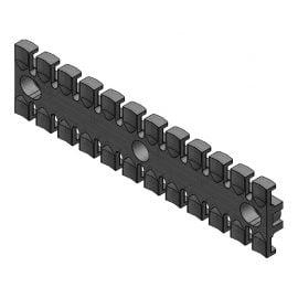 ZL 180 - Suport de prindere pentru 12 cabluri Murrplastik
