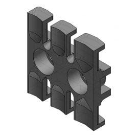 ZL 39 - Suport de prindere pentru 3 cabluri Murrplastik