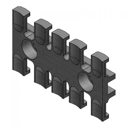 ZL 70 - Suport de prindere pentru 5 cabluri Murrplastik