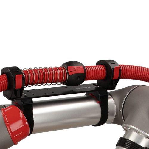 Bila protectie capat sistem retractie cu arc protejare mecanica tub copex riflat de interferente lovituri impact sarcini grele