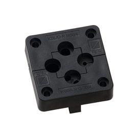 Cadru placa KDL-D-R M50-4 pt carotaj decupari rotunda in loc de presetupe etanseaza cabluri electrice pana in 12 mm