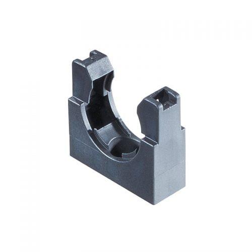 Cleme tuburi copex flexibile cu fixare ferma montaj rapid si inclichetare a tubului riflat Snap in Ignifuge Fara halogen Suport universal instalatii electrice aparate masini