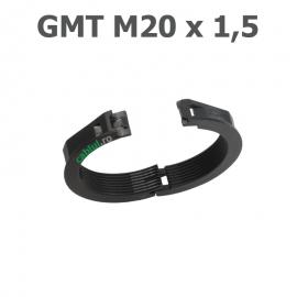 Contra piulita divizibila blocare conectori tuburi copex doua sectiuni divizibile fixare presetupe fitinguri split filet din plastic gmt-m20