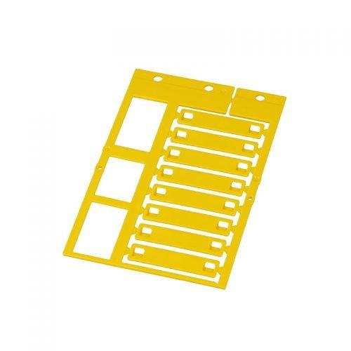 Eticheta 45 x 10 mm Partea superioara a cadrului ofera un loc de marcaj suplimentar pentru diverse proiecte Model KSM