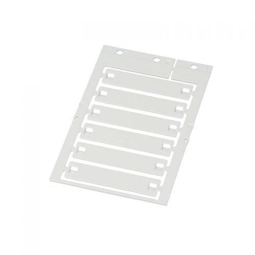 Eticheta alba 14 x 65 mm suprafata de marcare imprimare 14 x 48 culoare alb RAL 9016 oferim diverse sisteme de imprimare