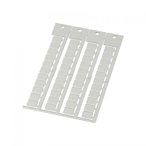 Eticheta alba 9 x 11 mm policarbonat ignifuga fara halogen -40 +130°C Etichete universale suprafata de marcare alb lucios