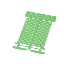 Eticheta verde pt marcarea si identificare cabluri electrice fire conductoare Marcaje de calitate de lunga durata Dimensiune etichete 4 x 30 mm