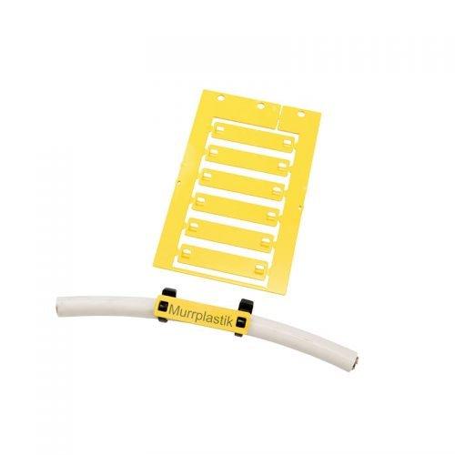 Etichete cablu 55 x 12 mm prindere coliere plastic fasete bride panduiti Eticheta policarbonat ignifuga fara halogen rezistenta temperaturi