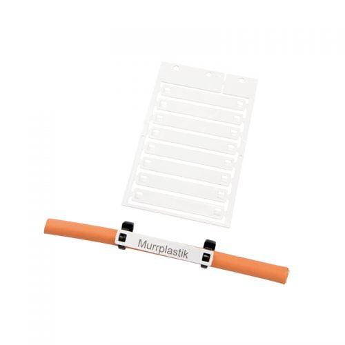 Etichete cabluri 10 x 70 mm instalare coliere plastic fasete bride direct pe fire instalatii electrice copex tuburi