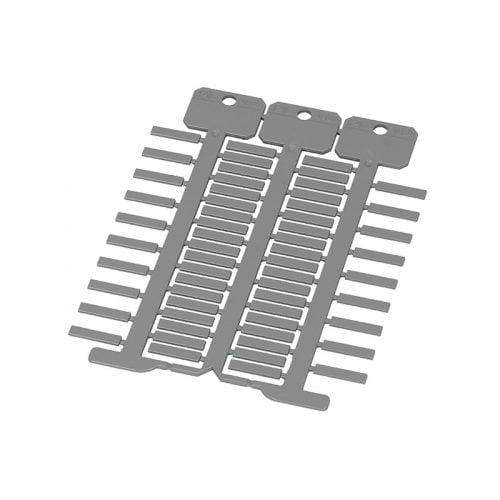 Etichete gri 4 x 18 mm Utilizare aplicatii speciale identificare vizuala rapida Culoare diferita fata de etichete standard