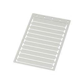Etichete mari universale 9 x 70 mm culoare alb Suprafata de marcare mare Proprietati electrice si dielectrice Rezistenta la incendiu
