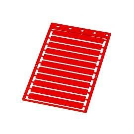 Etichete mari universale 9 x 70 mm culoare rosu Suprafata de marcare mare Proprietati electrice si dielectrice Rezistenta la incendiu