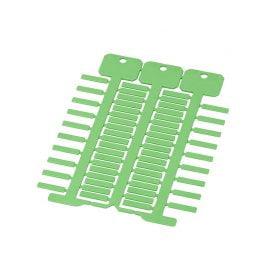 Etichete verzi 4 x 18 mm instalatii electrice Marcare cabluri electrice Identificare usoara depanare rapida
