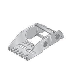 Kit de prindere Capete lant portcablu de inaltime exterioara 35 mm Cablurile si tuburile se fixeaza cu coliere de plastic