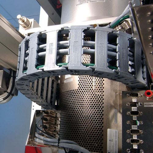Lant portant cabluri electronice electrice anti static compatibilitate electromagnetica pat cablu sine mobile auto sustinere CEM EMC EMV