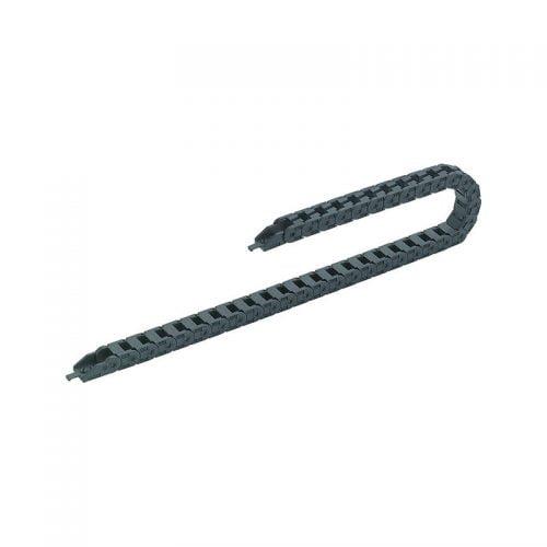 Lant portcablu mic inaltime interioara 10 mm exterioara 14 mm conductori max FI 8 mm CNC Jocuri mecanice Usi glisante Automatizari AGV Statii dozare ambalare