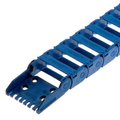 Lant portcablu polipropilena Rezistenta chimica Aplicatii medii umede H2O Culoare albastru Rezistent mecanic