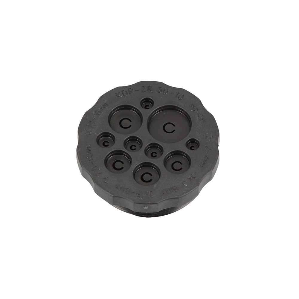 Presetupa polipropilena M50 placa multi intrari cabluri fire conductori electrici in tablou electric carcasa dulap de comanda furtunuri tuburi hidraulice pneumatice aer comprimat