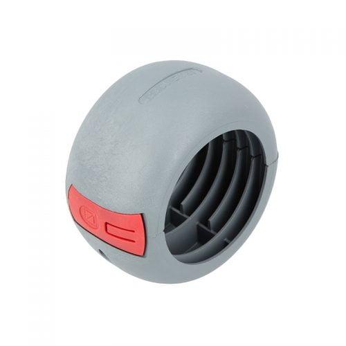Protectie la impact rupere smulgere abraziune tuburi M56 copex riflate corugate gofrate Murrplastik. Fara halogen ignifug rezistent temperaturi Culoare gri