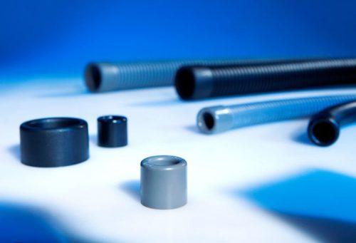 Protejarea capetelor taiate tub copex riflat flexibil Se instaleaza usor Protejeaza cablurile din a se rupe si taia la iesirea din tuburi Imbunatateste vizual aplicatia instalatiei electrice