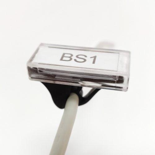 Sistem etichetare complet capac transparent montaj rapid pret avantajos etichete pregatite pt marcare