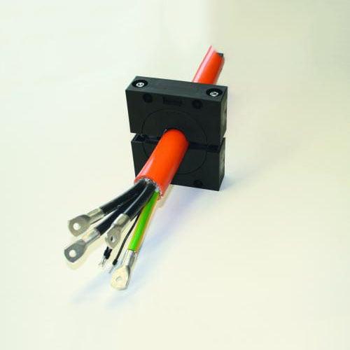 Solutie etansare cabluri mari conductor comanda forta tuburi flexibile copex riflate gofrate furtunuri pneumatice hidraulice instalatii electrice Cadru splitabil KDL JUMBO