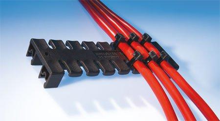 Suport de prindere si fixare a cablurilor in interioriul cofretelor, tablourilor electrice, lanturilor portcablu etc