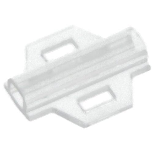 Tila 18 mm, transparenta, protejeaza marcajele etichetelor Montaj cu coliere direct pe copex conducte furtunuri hidraulice pneumatice tuburi flexibile fire conductori electrici KM Murrplastik