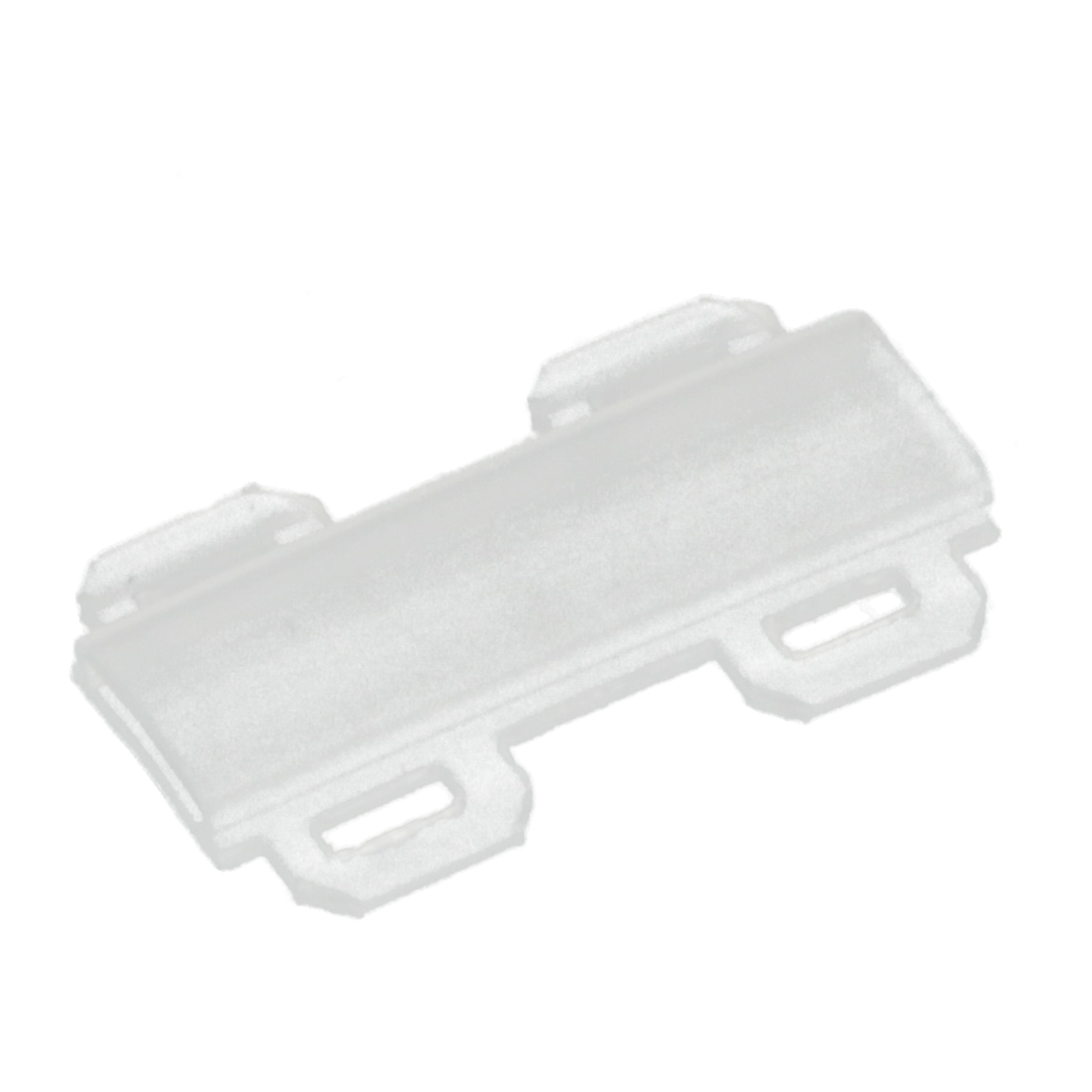 Tila 35 x 9 mm transparenta fabricata din PVC ignifuga prindere si fixare cu coliere de plastic Protejeaza marcajul de pe etichete din instalatii tablouri dulapuri comanda