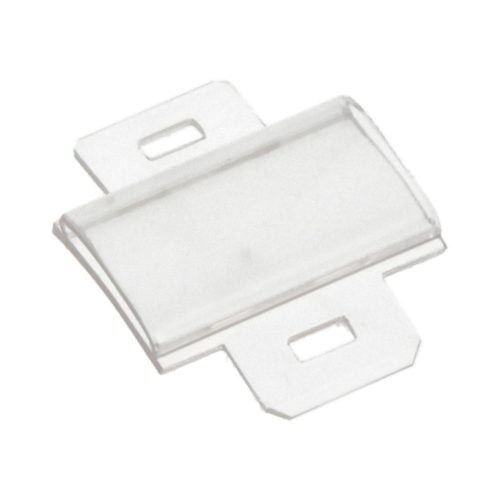 Tila lata transparenta 27 x 15 mm Datorita suportului transparent informatiile de identificare tiparite pe eticheta sunt protejate in toate conditiile de mediu instalare rapida