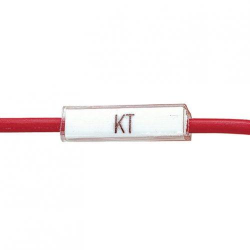 Tila transparenta pt marcarea cablurilor, firelor, conductoarelor, calitate superioara la pret accesibil. Protejati etichetele de praf, murdarie si lichide
