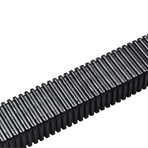 Tub copex dreptunghiular flexibil de protectie cabluri Alternativa eficienta si economica la lanturi portcablu Forma ergonomica speciala Fabricat din elastomer termoplastic TPE