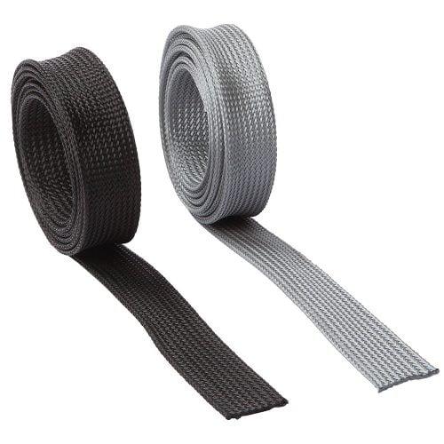 Tub plasa impletita de protectie fire electrice extrem rezistent uzura durabil elastic radial axial Prins legat cabluri Rezistenta substante chimice termica rupere abraziune