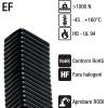 Tuburi copex dreptunghiulare patrate de protectie flexibile elastomer termoplastic special fara halogeni stabilitate mare rezistenta ridicata la oboseala seria EF