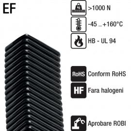 Tuburi copex dreptunghiulare flexibile - Seria EF