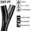 Tuburi despicate protectie copex riflat doua sectiuni divizibile despicabile cu rezistenta UV fabricat din polipropilena rezistenta chimica buna EWT PP Split flex Murrplastik