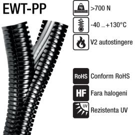 Tuburi copex cu doua sectiuni divizibile - EWT-PP