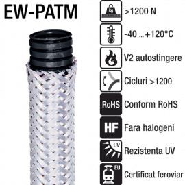 Tuburi copex cu plasa metalica - EW-PATM