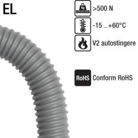 Tuburi de protectie flexibile PVC - EL
