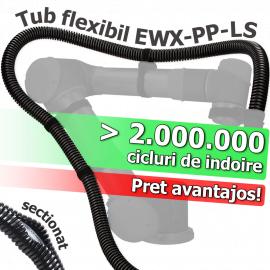 Tuburi sectionate flexibile de protectie cu riflare inalta